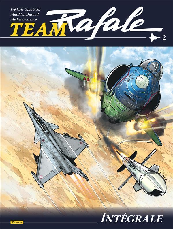 TEAM RAFALE  -  INTEGRALE VOL.2  -  T.4 A T.6