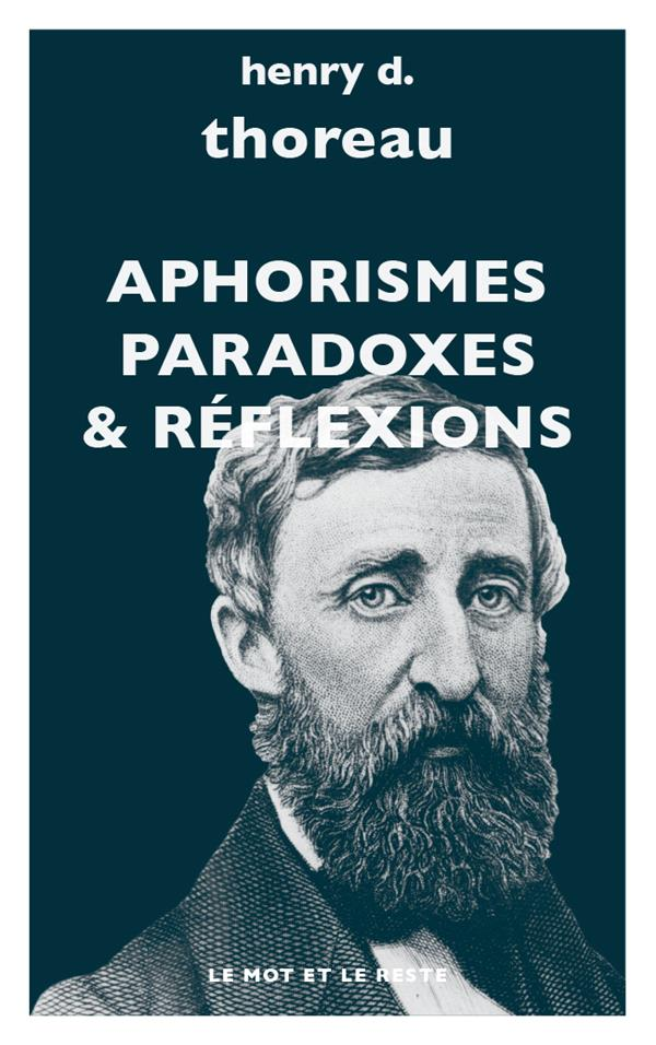 APHORISMES, PARADOXES, REFLEXIONS