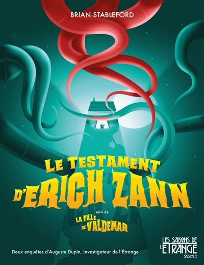 LE TESTAMENT D'ERICH ZANN STABLEFORD BRIAN MOUTONS ELECTR