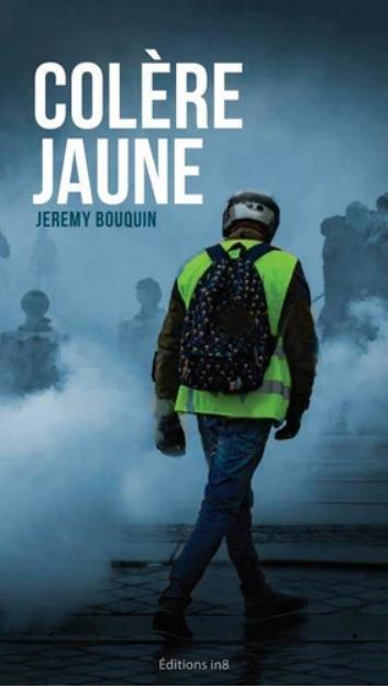 COLERE JAUNE BOUQUIN, JEREMY ATELIER IN8