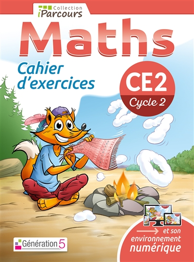 CAHIER D-EXERCICES IPARCOURS MATHS CE2 (201 8)