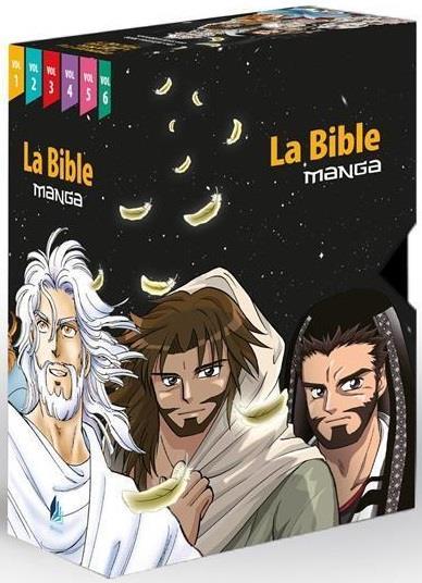 LA BIBLE MANGA, LE COFFRET COLLECTION COMPLET 6 TOMES