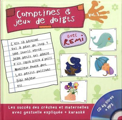 COMPTINES ET JEUX DE DOIGTS VOL.3