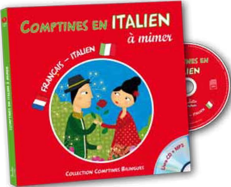 COMPTINES EN ITALIEN A MIMER COLLECTIF FORMULETTE