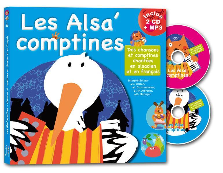 LES ALSA'COMPTINES FRANCINE POHL NC