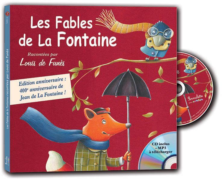 LES FABLES DE LA FONTAINE RACONTEES PAR LOUIS DE FUNES LA FONTAINE, JEAN DE  FORMULETTE
