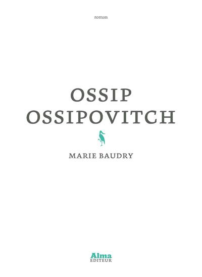 OSSIP OSSIPOVITCH