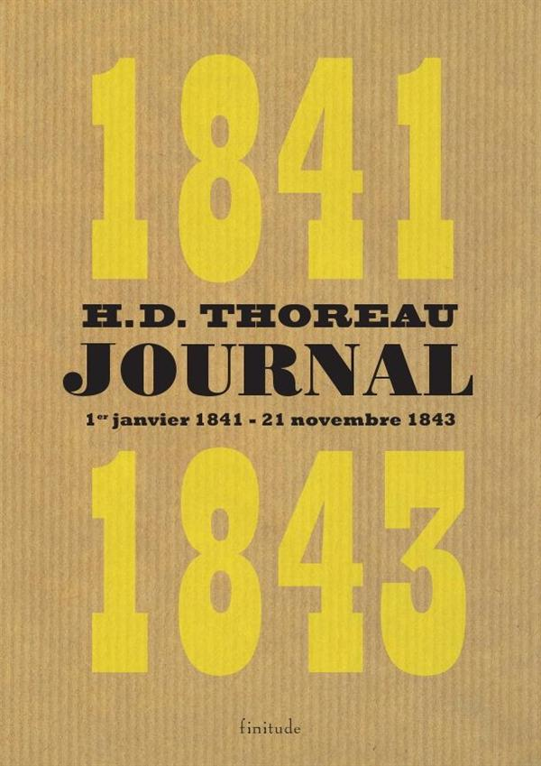 JOURNAL 1841-1843