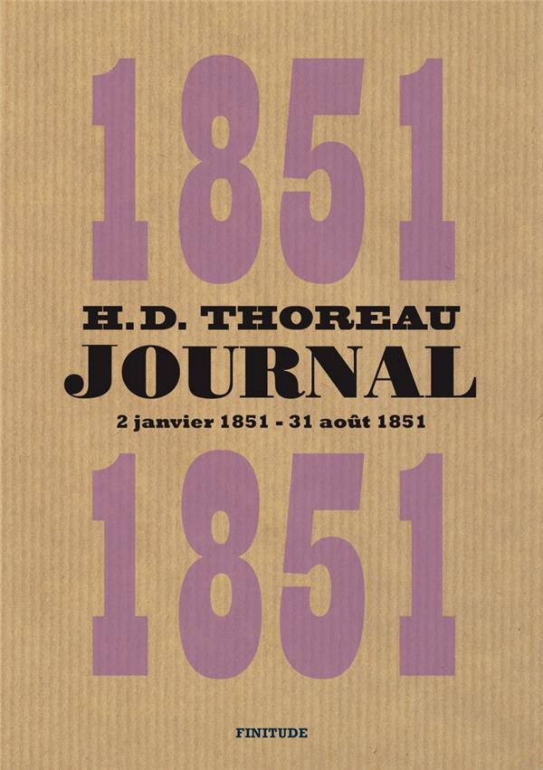 JOURNAL T.5     2 JANVIER 1851   31 AOUT 1851