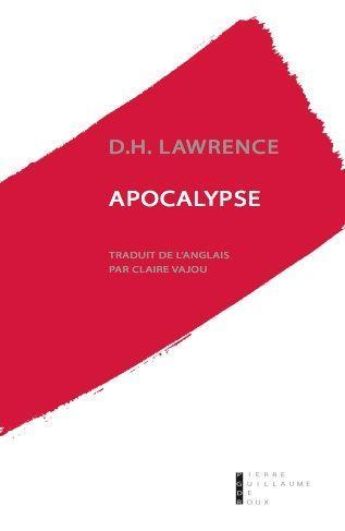 APOCALYPSE LAWRENCE D.H. PG DE ROUX