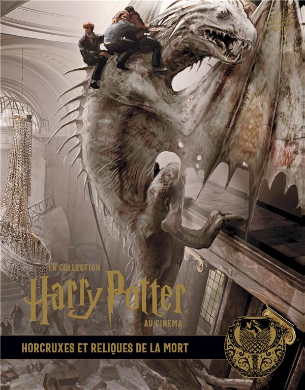 LA COLLECTION HARRY POTTER AU CINEMA, VOL. 3 : HORCRUXES ET RELIQUES DE LA MORT XXX HUGINN MUNINN