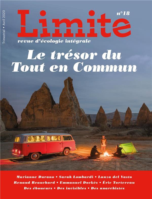 REVUE LIMITE N.18  -  LE TRESOR DU TOUT EN COMMUN