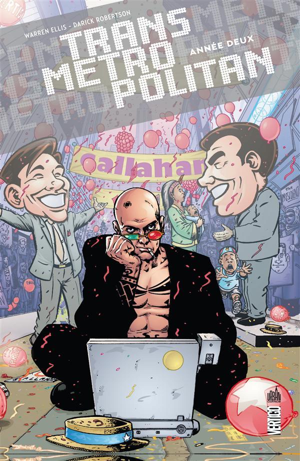 Transmetropolitan Vol.2 Ellis Warren Urban comics