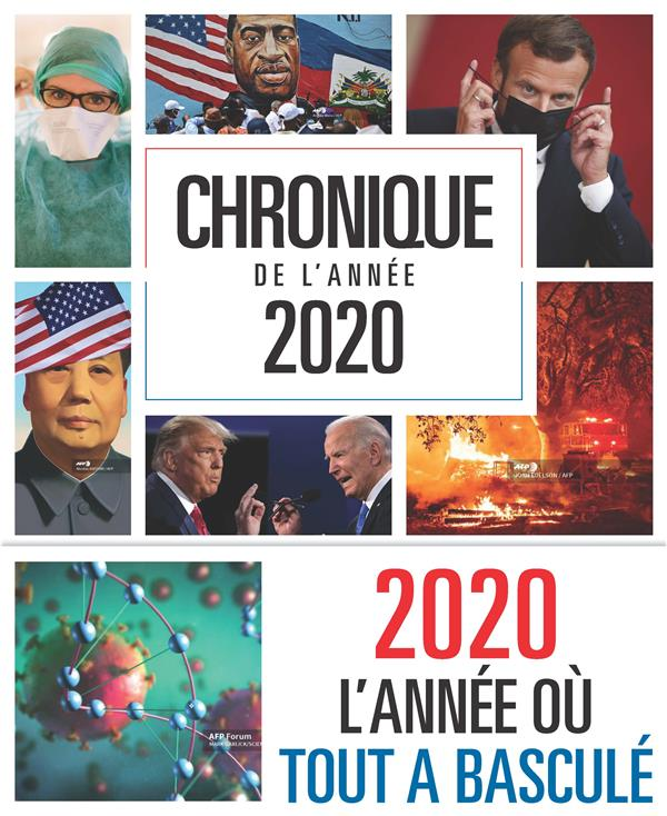 CHRONIQUE DE L'ANNEE 2020 COLLECTIF CHRONIQUE