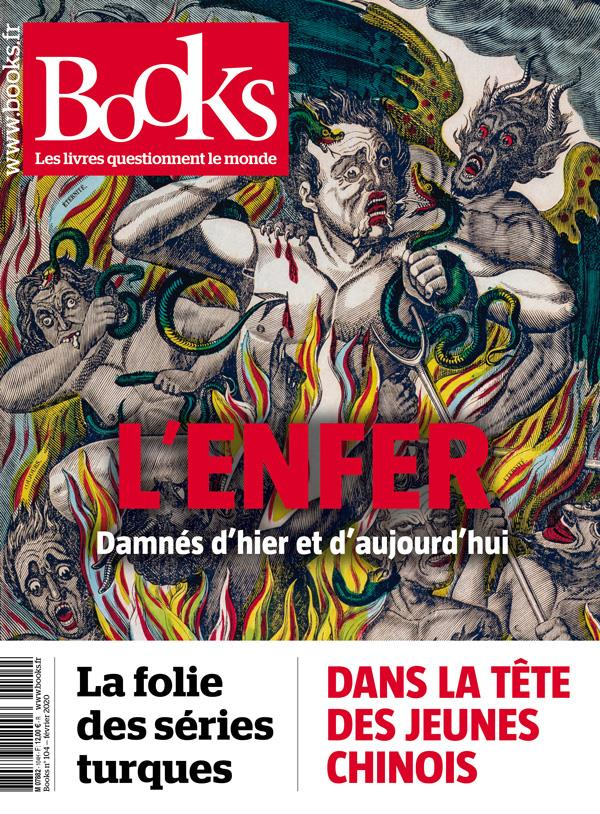 BOOKS N.104  -  FEVRIER 2020  -  L'ENFER, DAMNES D'HIER ET D'AUJOURD'HUI