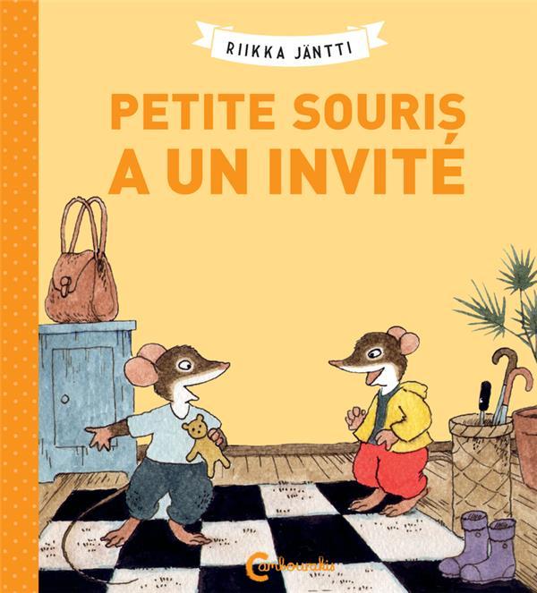 PETITE SOURIS A UN INVITE