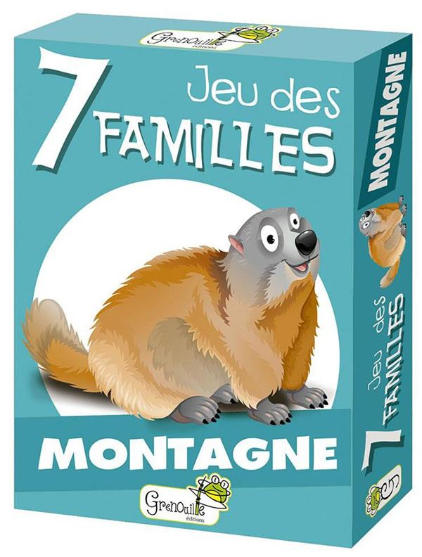JEU DES 7 FAMILLES  -  MONTAGNE