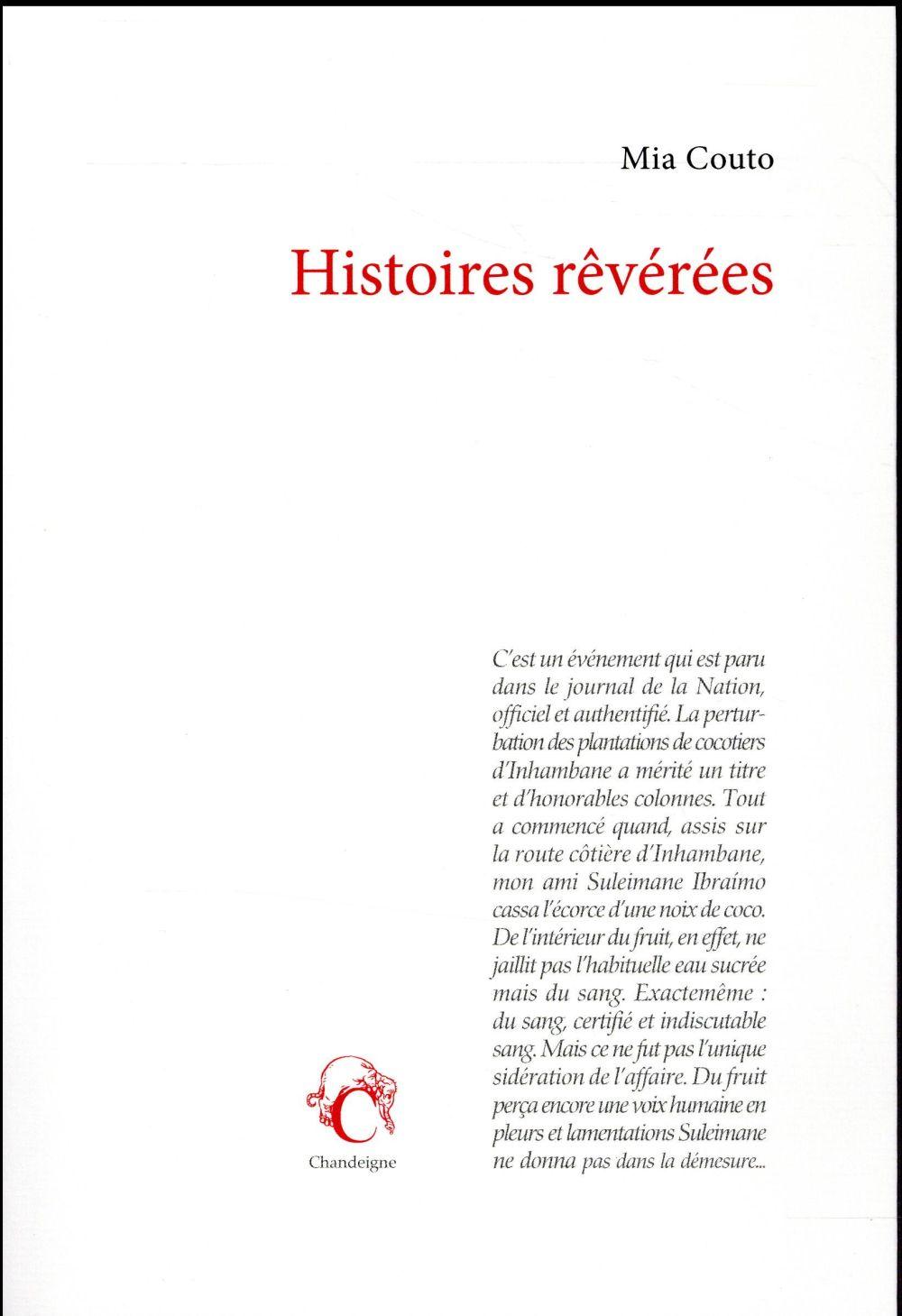 HISTOIRES REVEREES