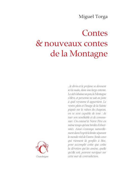 CONTES DE LA MONTAGNE TORGA MIGUEL Chandeigne