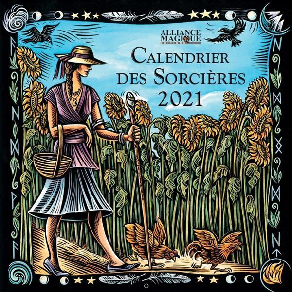 CALENDRIER DES SORCIERES (EDITION 2021) ALLIANCE MAGIQUE ALLIANCE MAGIQU