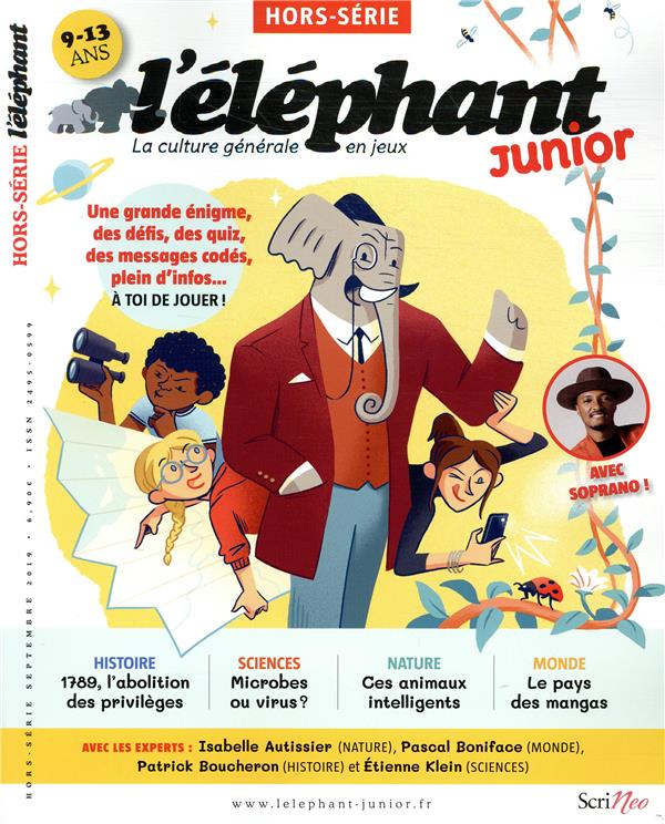 HORS-SERIE JUNIOR L'ELEPHANT
