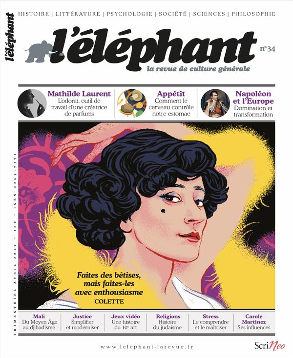 L-ELEPHANT NUMERO 34