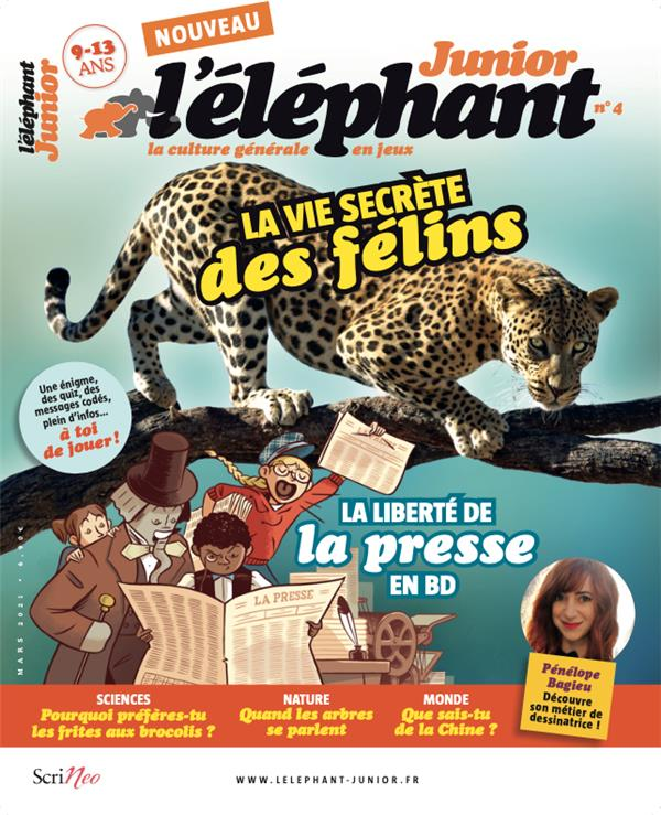 L'ELEPHANT JUNIOR N.4 COLLECTIF NC