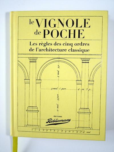 LE VIGNOLE DE POCHE THIERRY / VITRY BIBLIOMANE