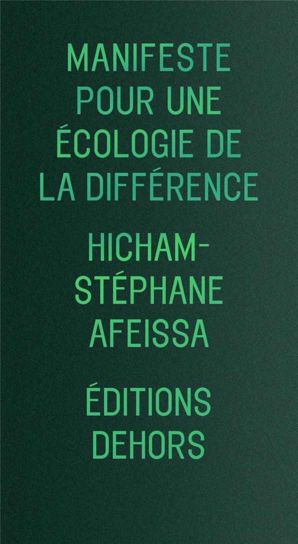 MANIFESTE POUR UNE ECOLOGIE DE LA DIFFERENCE