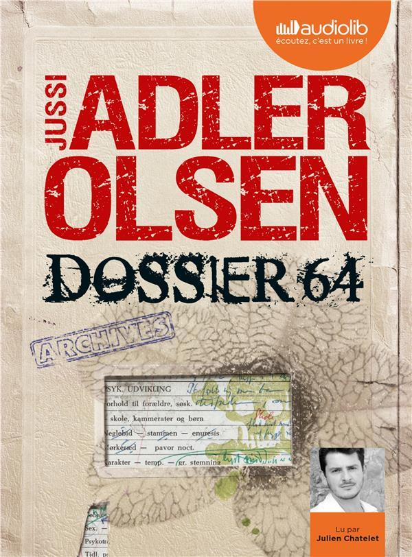 Adler-Olsen Jussi - DOSSIER 64  LES ENQUETES DU DEPARTEMENT V - 4
