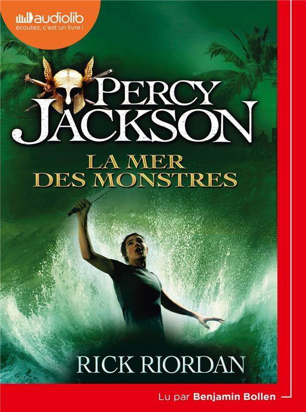 PERCY JACKSON T.2  -  LA MER DES MONSTRES RIORDAN RICK AUDIOLIB