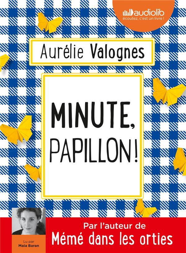 MINUTE, PAPILLON ! - LIVRE AUDIO 1 CD MP3