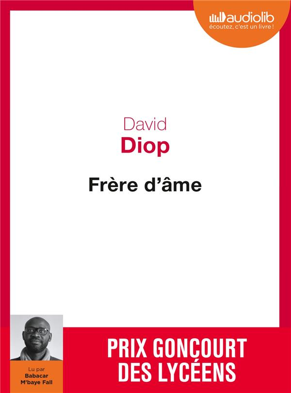 FRERE D'AME - LIVRE AUDIO 1 CD MP3