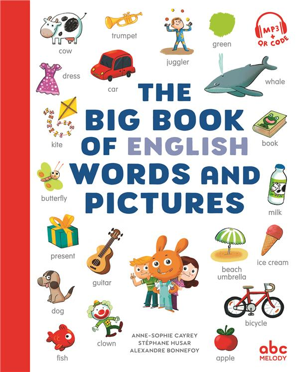 IMAGIERS LANGUES   THE BIG BOOK OF ENGLISH WORDS AND PICTURES