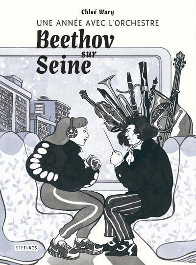 UNE ANNEE AVEC L'ORCHESTRE  -  BEETHOV SUR SEINE WARY, CHLOE STEINKIS