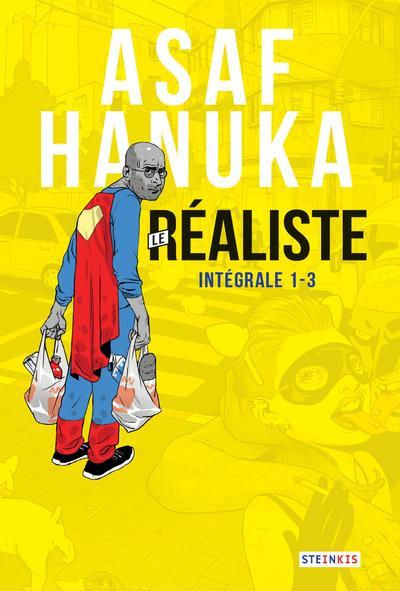 ASAF HANUKA - LE REALISTE INTEGRALE (NUMEROS 1-2-3) HANUKA ASAF STEINKIS