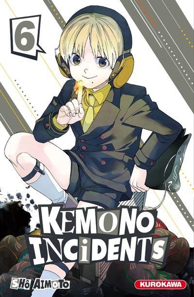 KEMONO INCIDENTS T.6 AIMOTO, SHO KUROKAWA