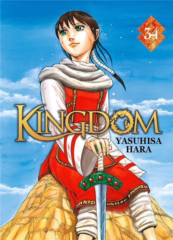 KINGDOM - TOME 34 - LIVRE (MANGA) YASUHISA HARA DG-EXODIF