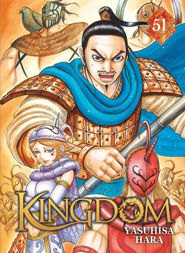 KINGDOM - TOME 51 HARA YASUHISA DG-EXODIF