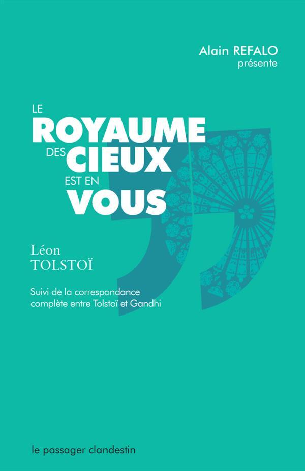 LE ROYAUME DES CIEUX EST EN VOUS (NE)