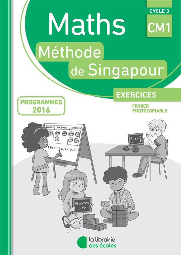 MATHS METHODE SINGAPOUR CM1 EXERCICES FICHI ER PHOTOCOPIABLE