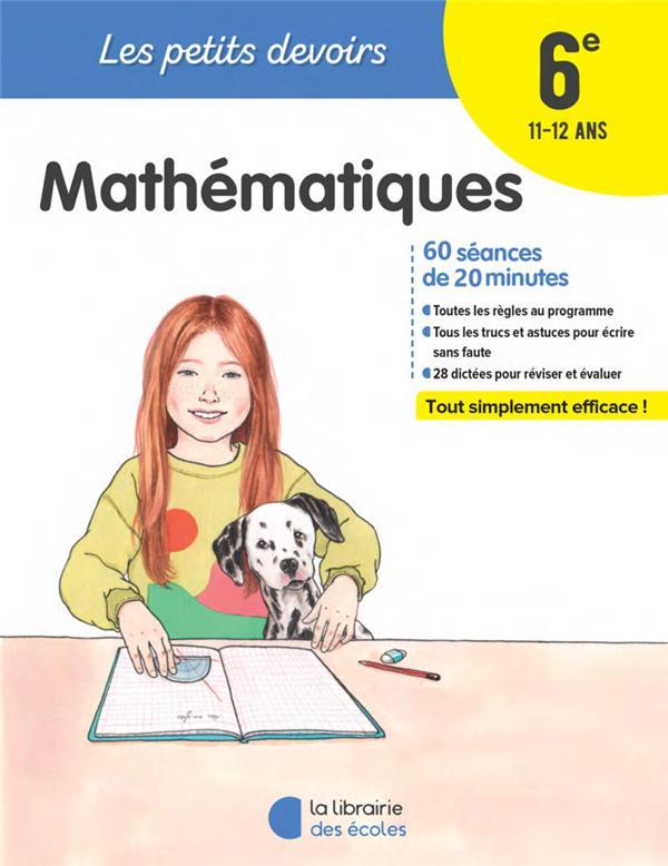 MATHEMATIQUES 6E COLLECTIF ECOLES PARIS