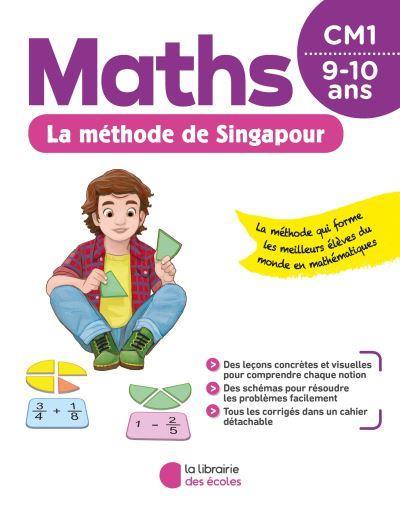 METHODE DE SINGAPOUR  -  MATHS  -  CM1 (EDITION 2020) KRITTER CHANTAL ECOLES PARIS