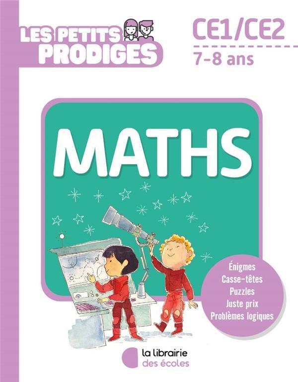 LES PETITS PRODIGES  -  MATHS  -  CE1CE2  -  78 ANS ICHELMANN, THIERRY ECOLES PARIS