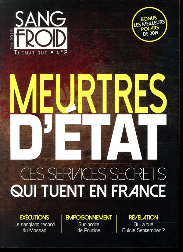 SANG FROID THEMATIQUE N 2 - ME COLLECTIF SANG FROID