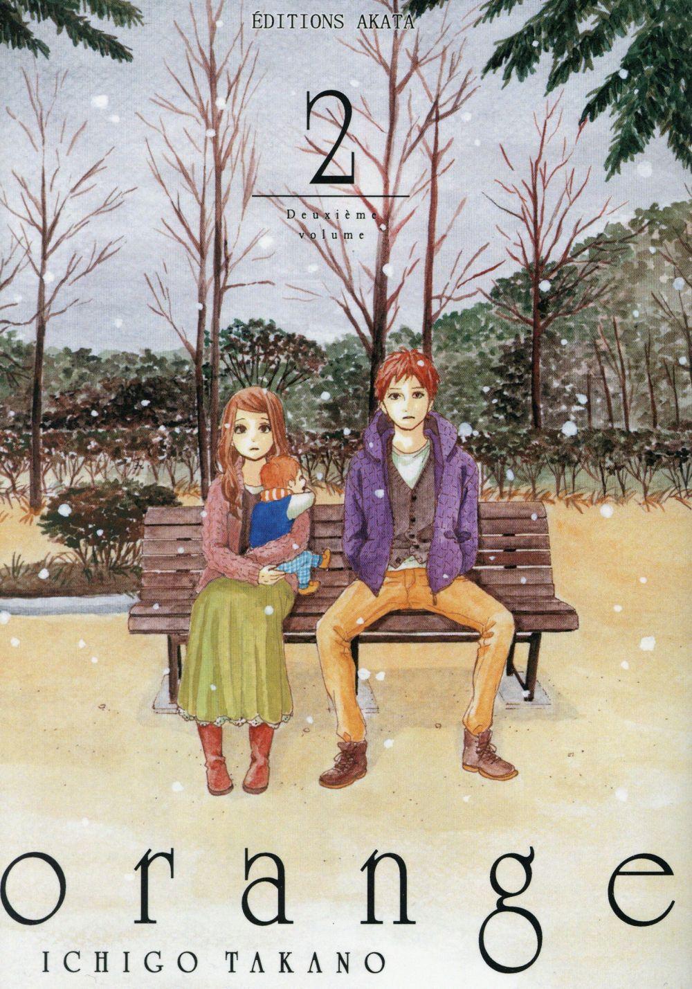 ORANGE - TOME 2 Takano Ichigo Editions Akata