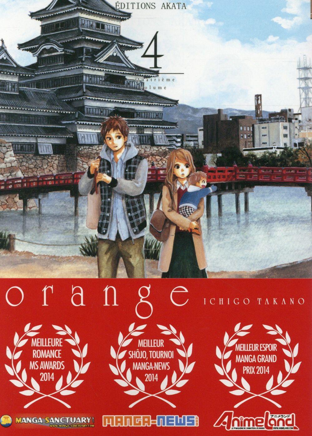 ORANGE - TOME 4 Takano Ichigo Editions Akata