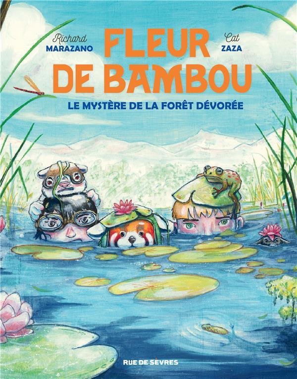 FLEUR DE BAMBOU T.2  -  LE MYSTERE DE LA FORET DEVOREE