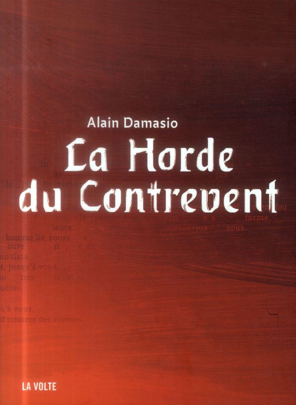LA HORDE DU CONTREVENT NED Damasio Alain La Volte