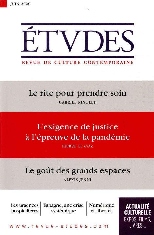 REVUE ETUDES N.4272  -  JUIN 2020
